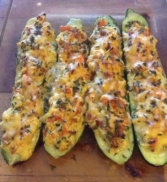 Stuffed Zucchini. Yes.