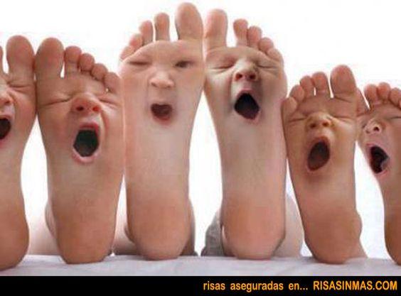 Los pies están agotados, explica por qué