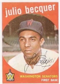 93 - Julio Becquer - Washington Senators