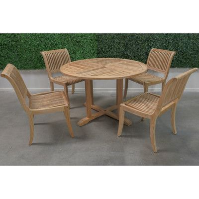 hiteak furniture 5 piece dining set | esszimmergarnituren und möbel, Esstisch ideennn