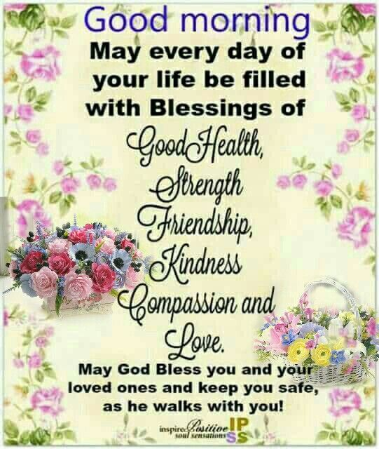 Positive Good Morning God Bless Your Day