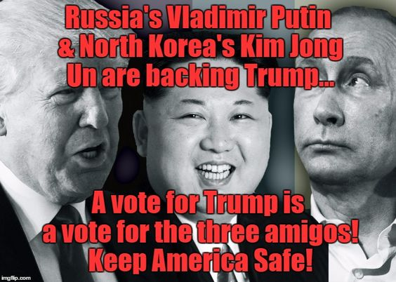 Image result for Trump, Putin and the UN