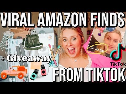 I Tried Viral Amazon Finds From Tik Tok Omg Youtube Amazon Find Amazon Tik Tok
