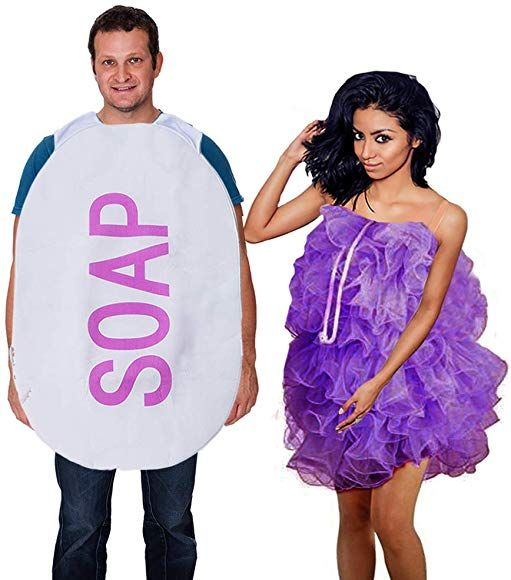Funny Pc Halloween Costumes 2020 Amazon.com: Tigerdoe Loofah & Soap Costume   2 Pc   Couples