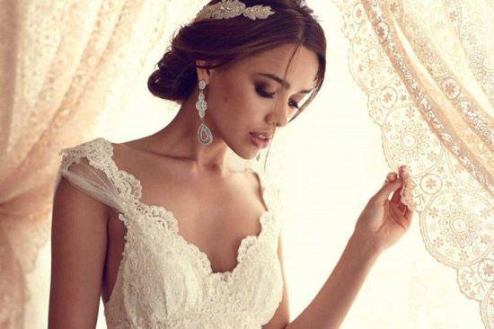Brautkleider mit spitze klassisch elegant und immer modern