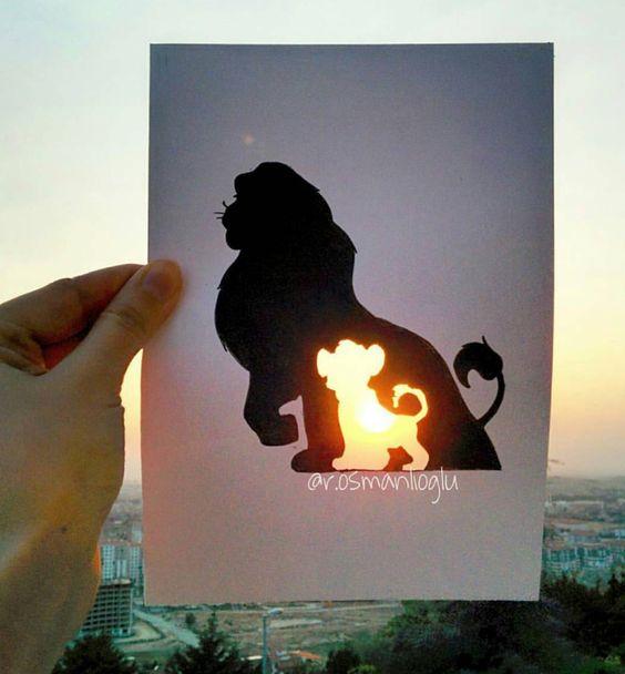 Lion King Art