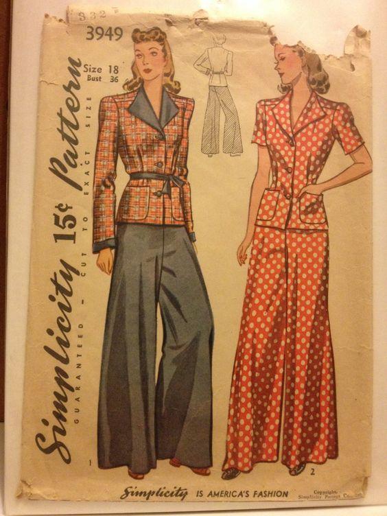 Simplicity 3949 pajamas