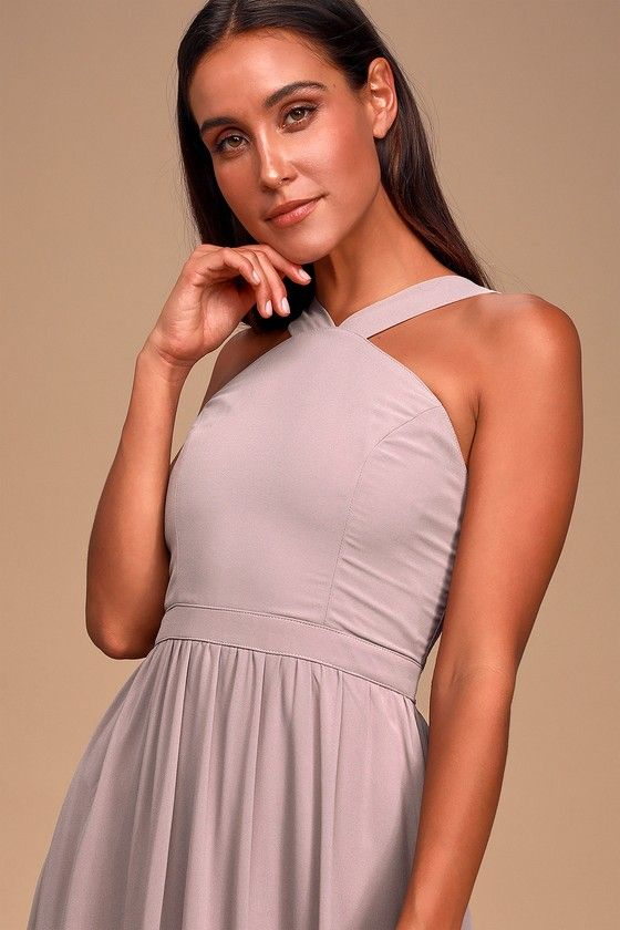 Air Of Romance Taupe Maxi Dress Taupe Maxi Dress Dresses Large Size Dresses