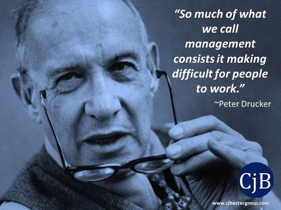 peter drucker 5 minds for the #109: 5 management lessons from peter drucker share  one thing to keep in mind: strong people always have strong weaknesses.