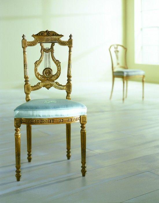 Louis XVI  |  Boudoir Chair