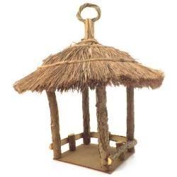 Cabana de Pássaros Grande - Casa - Quiosque | Carro de Mola.com.br | Porque decorar faz bem.