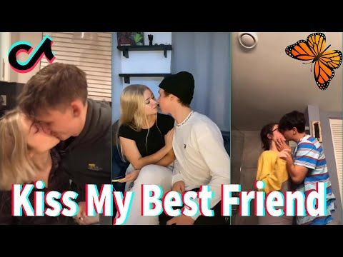 Today I Tried To Kiss My Best Friend Part 17 Tiktok Compilation Youtube Best Friend Challenges My Best Friend Friend Challenges