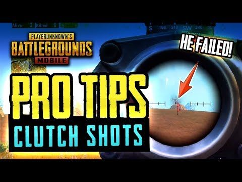 Pro Tips Clutch Shots Pubg Mobile Youtube Video Game