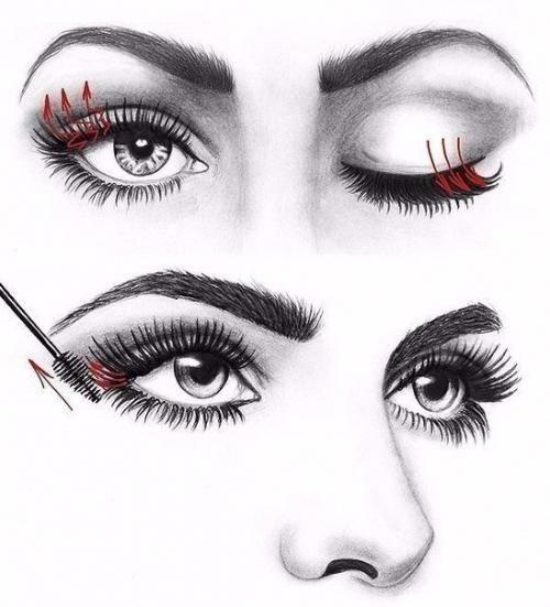 Как правильно красить ресницы: #Lipstick