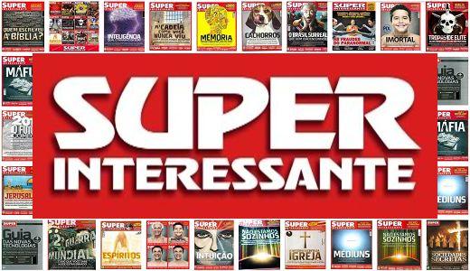Só 0800: ACERVO COMPLETO DA REVISTA SUPER INTERESSANTE