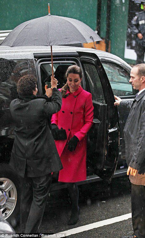 William & Catherine - Visite officielle à New York  le 09 Décembre 2014 ,3ieme jour