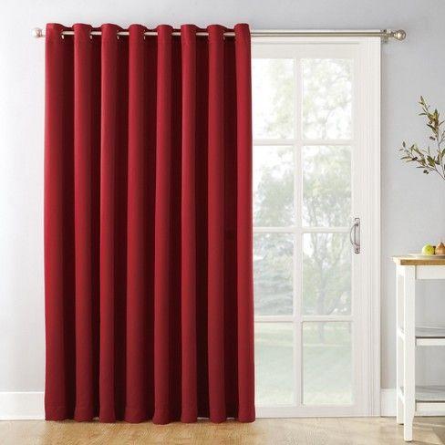 Kenneth Extra Wide Blackout Curtain Panel 84 X100 Sun Zero