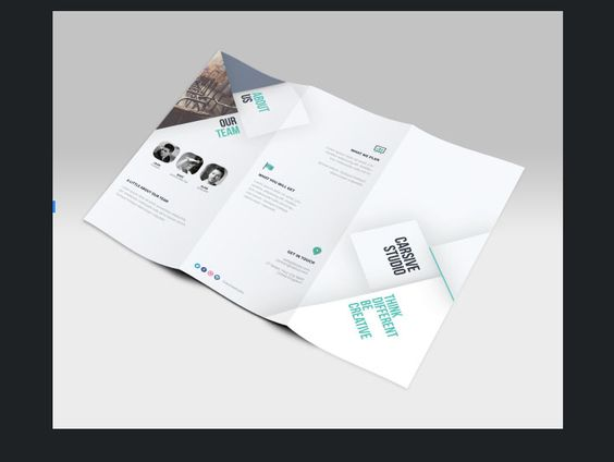 Bi-fold Corporate Brochure Templates Free Beraksi Pinterest - free bi fold brochure template word