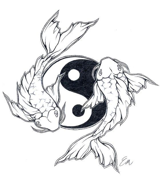 Showing post & media for Fish yin yang tattoo designs   www ...