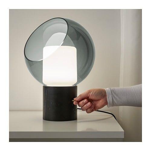 Evedal Marble Grey Globe Grey Globe Table Lamp Ikea Ikea Table Lamp Grey Table Lamps Lamp