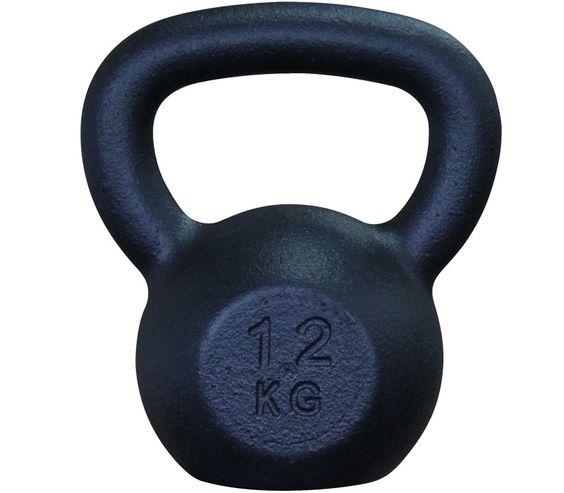Guss Classic Kettlebell / Kugelhantel, schwarz, 12 kg  27,90 plus shipping