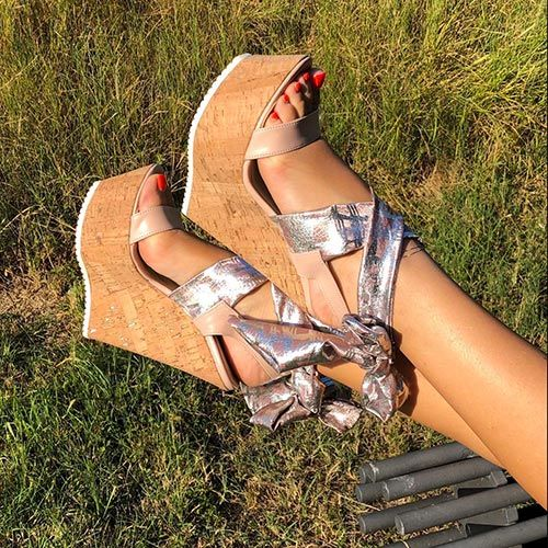 SHARLENE | Fashion Shoes Made in Italy nel 2020 | Zeppe