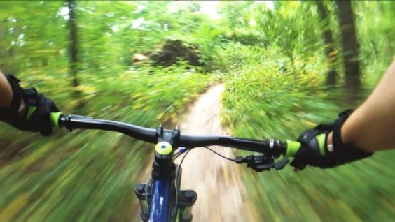 Mountain bike trails at Cunningham park, Queens- MTB