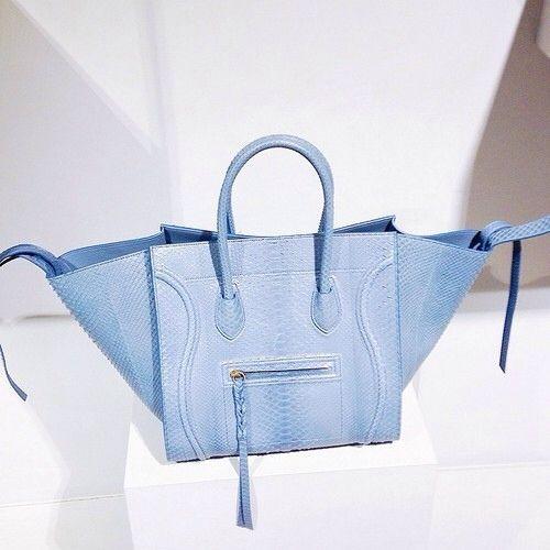 where can i buy celine bags online - Super rare Celine phantom in powder blue python - @BagboysNYC ...