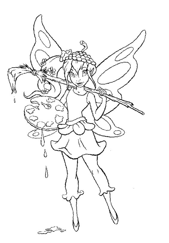 Fairy Coloring Pages Tinkerbell Coloring Pages Fairy Coloring Pages Fairy Coloring