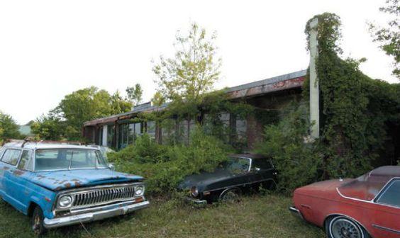 Revenda abandonada reúne 'joias' nos EUA +http://brml.co/17GBFHw