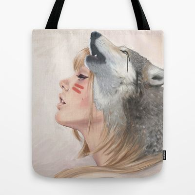 Falling to Pieces Tote Bag by Chelsea Hantken - $22.00 The new #tote #bags look really good!!! The design fits all over now! I want one!