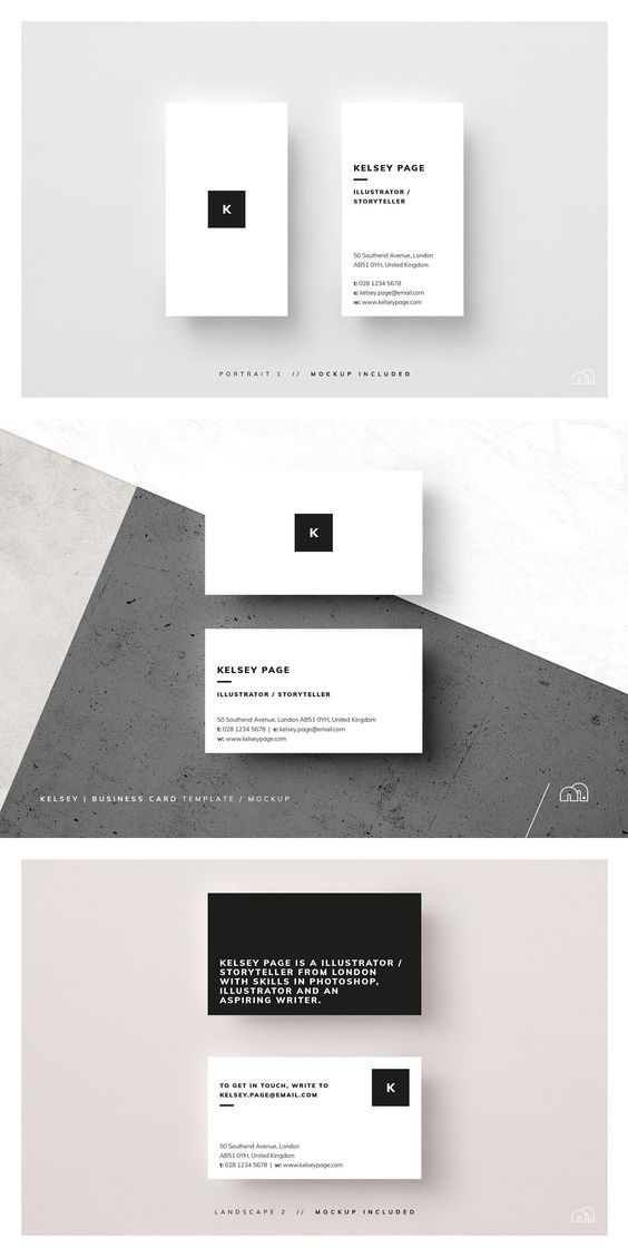 Business Card Kelsey Business Card Template Calling Card Design Calling Cards