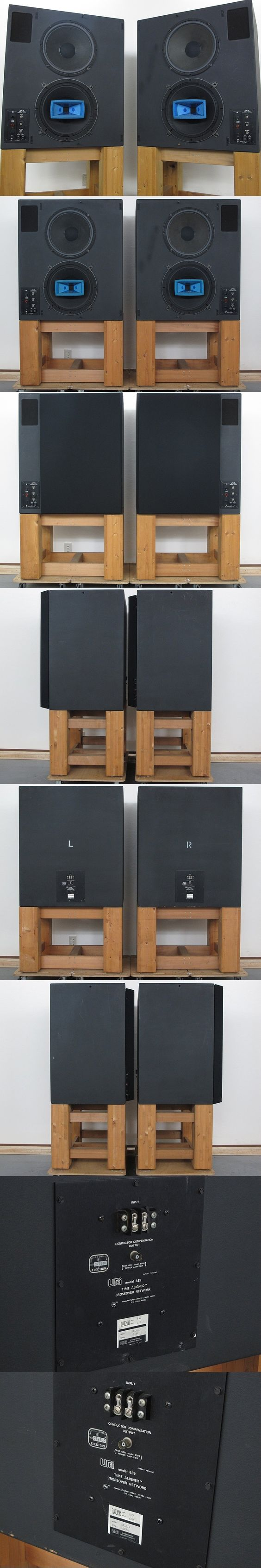 Urei UREI 813A monitor speakers with Private stand