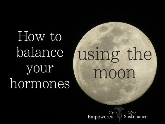 Balance your hormones naturally by using a nightlight to replicate moon light (Lunaception). It sounds weird, but it works!