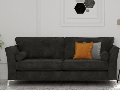 Harveys Furniture Icon Sofa From Bold Collection In Coral Seater Sofa Home Furniture Shopping Sofa