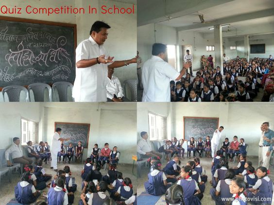 Attended Quiz Competition In School