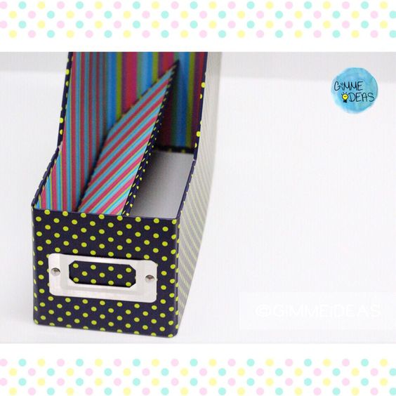 POLKA DOT FiLE BOX ヅ