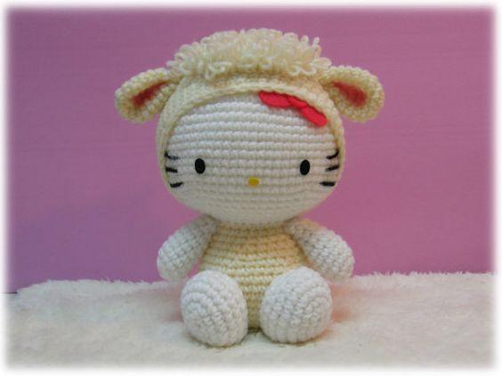 Hello Kitty Amigurumi Ohje Suomeksi : Pinterest The world s catalog of ideas
