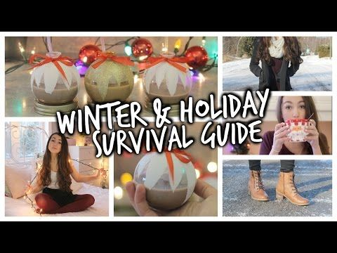 Winter & Holiday Survival Guide! (Essentials, Outfits, Party Ideas) - http://prepping.fivedollararmy.com/uncategorized/winter-holiday-survival-guide-essentials-outfits-party-ideas/