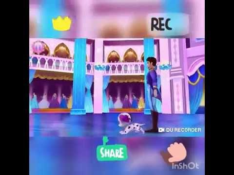 Buz Prensesi Yakisikli Prens Ile Dans Ediyor Youtube Prenses Youtube Oyun