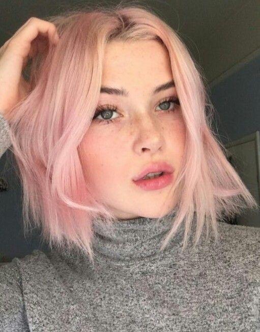Pin By Wendy E On Hair Short Hair Styles Pink Short Hair Hair Styles