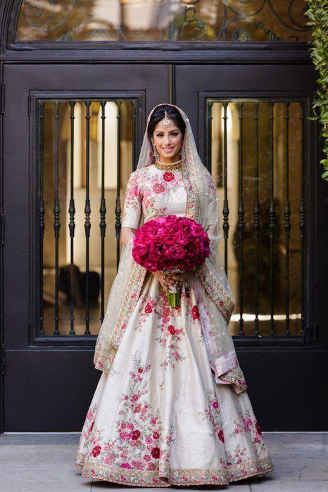 South Asian Fuchsia Wedding Belle The Magazine Asian Wedding Dress Asian Bridal Dresses South Asian Wedding Dress