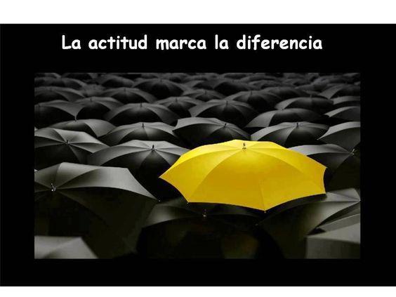 .la actitud marca la diferencia