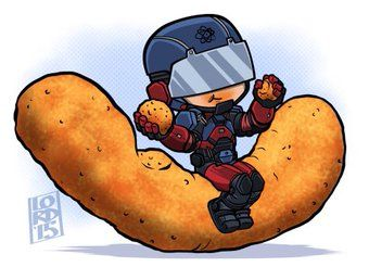 "Lord mesa-art ""Size of a Cheeto"" When life gives you lemons...Welcome back Ray!!"