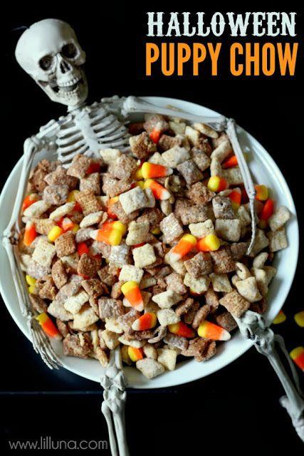 Creative party ideas by cheryl halloween snack with for Creative ideas for halloween treats