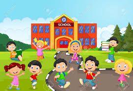نتيجة بحث الصور عن صورة كرتونية لمدرسة School Illustration Animation Schools Art For Kids