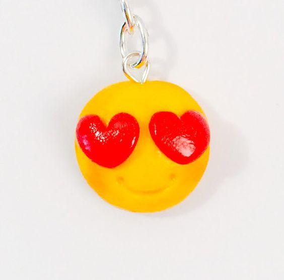 Heart Emoji Keychain