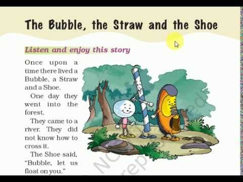 Cbse Icse Ncert Class 1 English The Bubble The Straw And The Shoe Class 1 English Class 1 Worksheets English Worksheets For Kids 1st cbse class english worksheets