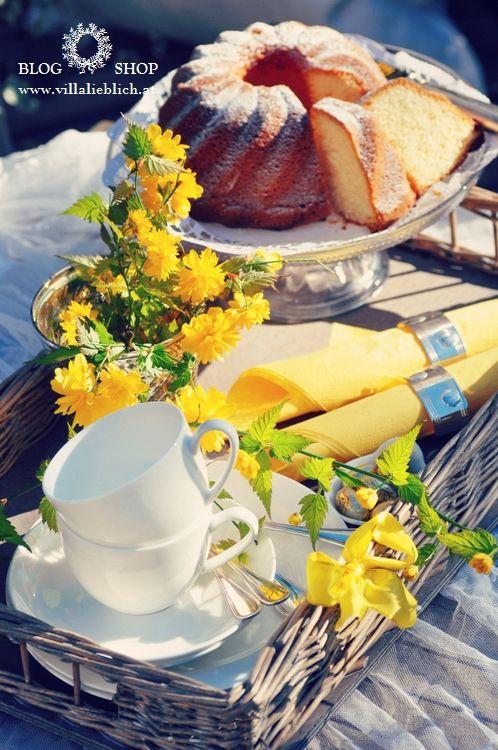 * Villa Lieblich *: Tea Treats, Tea Time, Spring Time, Teatime Easter, Villas
