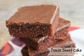 Texas sheet cake.